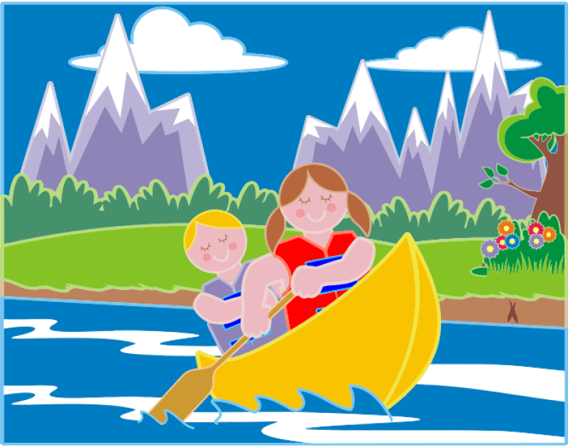 Girl And Boy Clipart png free, Girl And Boy transparent png