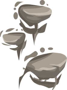 Ladder Rock Clipart png free, Ladder Rock transparent png