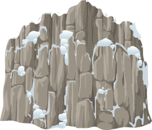 Alpine Landscape Snow Clifface Clipart png free, Alpine Landscape Snow Clifface transparent png