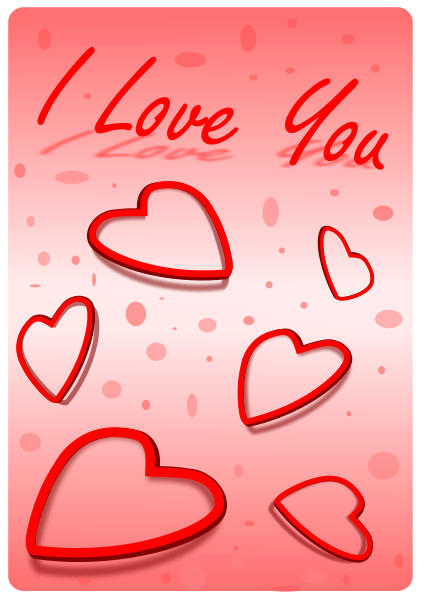 I Love You Clipart png free, I Love You transparent png