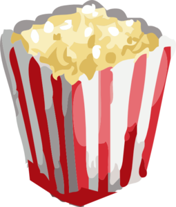 Popcorn Clipart png free, Popcorn transparent png