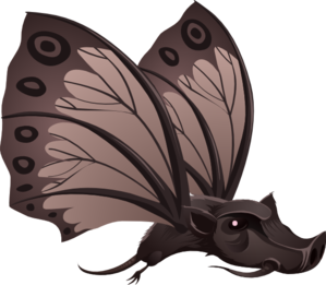 Inhabitants Npc Butterfly Clipart png free, Inhabitants Npc Butterfly transparent png