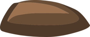 Small Brown Seed Clipart png free, Small Brown Seed transparent png