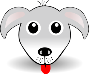 Dog Face Clipart png free, Dog Face transparent png