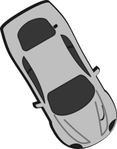 Gray Car - Top View - 300 Clipart png free, Gray Car - Top View - 300 transparent png