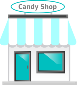 Candy Shop Front  Clipart png free, Candy Shop Front  transparent png