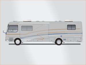 Gray Mobile Home Clipart png free, Gray Mobile Home transparent png