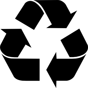 Recycling Symbol Clipart png free, Recycling Symbol transparent png