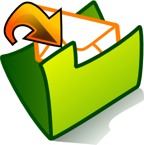 Inbox Folder Clipart png free, Inbox Folder transparent png