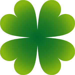 Pierig Four Leaf Clover Clipart png free, Pierig Four Leaf Clover transparent png