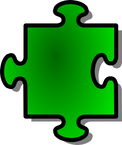 Green Jigsaw Piece 7 Clipart png free, Green Jigsaw Piece 7 transparent png
