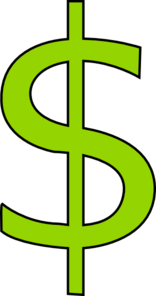 Dollar Sign Clipart png free, Dollar Sign transparent png