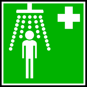 Green Hospital Cross With Man Clipart png free, Green Hospital Cross With Man transparent png