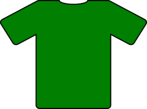 Green T-Shirt Clipart png free, Green T-Shirt transparent png