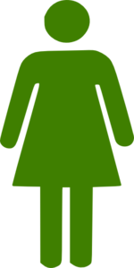 Green Woman Clipart png free, Green Woman transparent png