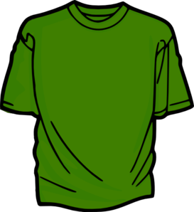 T-Shirt-Green Clipart png free, T-Shirt-Green transparent png