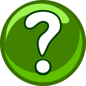 Green Question Mark Clipart png free, Green Question Mark transparent png