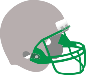 Silver And Green Helmet Clipart png free, Silver And Green Helmet transparent png