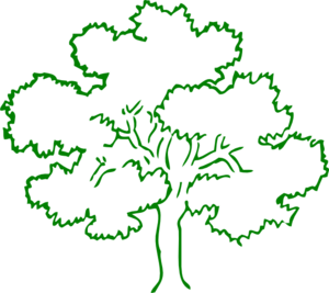Tree Image Green Clipart png free, Tree Image Green transparent png