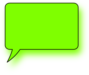 Green Lefthand Speech Bubble Clipart png free, Green Lefthand Speech Bubble transparent png