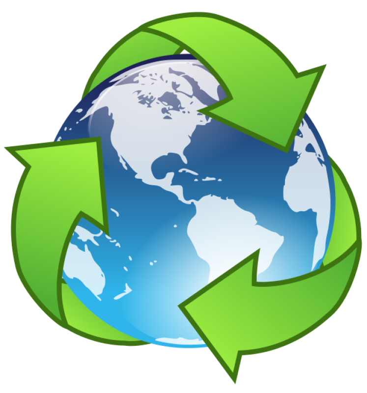 Recycle Earth Clipart png free, Recycle Earth transparent png