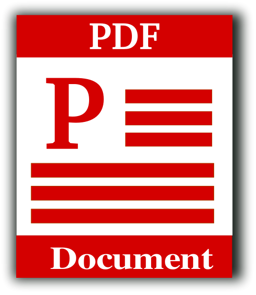 Portable Document Format Icon Clipart png free, Portable Document Format Icon transparent png