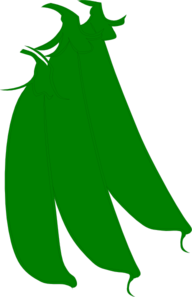 Green Beans Clipart png free, Green Beans transparent png