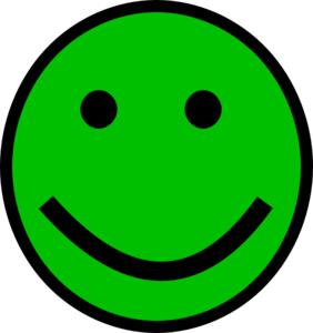 Green Smiley Face Clipart png free, Green Smiley Face transparent png