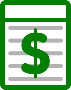 Dollar Green White Clipart png free, Dollar Green White transparent png