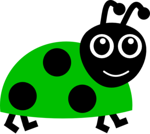 Green Lady Bug Clipart png free, Green Lady Bug transparent png