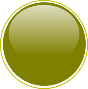 Glossy Olive Green Button Clipart png free, Glossy Olive Green Button transparent png