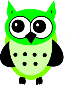 Lime Owl Clipart png free, Lime Owl transparent png