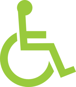 Wheelchair Logo Clipart png free, Wheelchair Logo transparent png