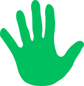 Hands - Various Colors Clipart png free, Hands - Various Colors transparent png