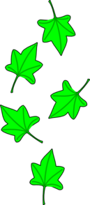 Green Grape Tree Leaves Clipart png free, Green Grape Tree Leaves transparent png
