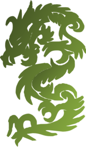 Green Chinese Dragon Clipart png free, Green Chinese Dragon transparent png