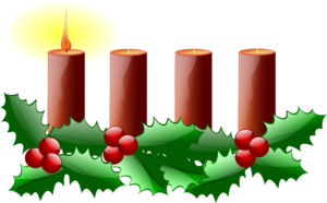 Advent Candles Clipart png free, Advent Candles transparent png
