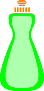 Green Liquid Soap Clipart png free, Green Liquid Soap transparent png