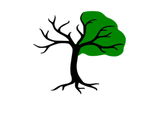 Splittree Logo Green Clipart png free, Splittree Logo Green transparent png
