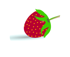 Small Strawberry Clipart png free, Small Strawberry transparent png