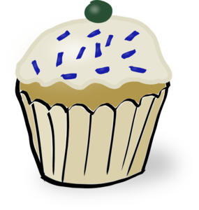 Cupcake With Sprinkles Clipart png free, Cupcake With Sprinkles transparent png
