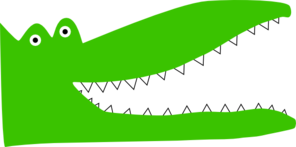 Alligator Teeth Clipart png free, Alligator Teeth transparent png