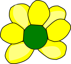 Yellow Flower 2 Clipart png free, Yellow Flower 2 transparent png