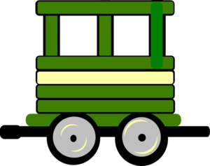 Loco Train Carriage Clipart png free, Loco Train Carriage transparent png