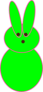 Green Peep Clipart png free, Green Peep transparent png