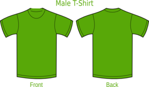 Plain T-Shirts Green Clipart png free, Plain T-Shirts Green transparent png