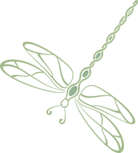 Filled Green Dragonfly Clipart png free, Filled Green Dragonfly transparent png