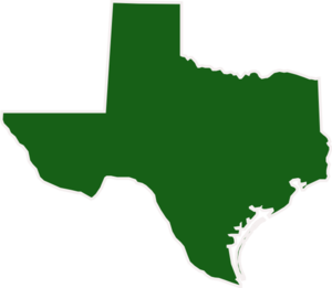 Dark Green Texas Clipart png free, Dark Green Texas transparent png