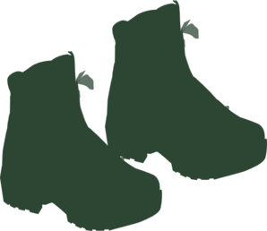 Small Hiking Boots Clipart png free, Small Hiking Boots transparent png