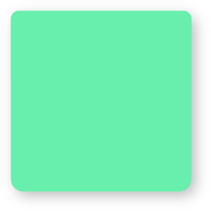 Green Square Rounded Corners Clipart png free, Green Square Rounded Corners transparent png